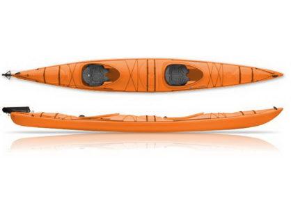 Каяк двухместный Wilderness Northstar 180 (цвет: оранжевый)