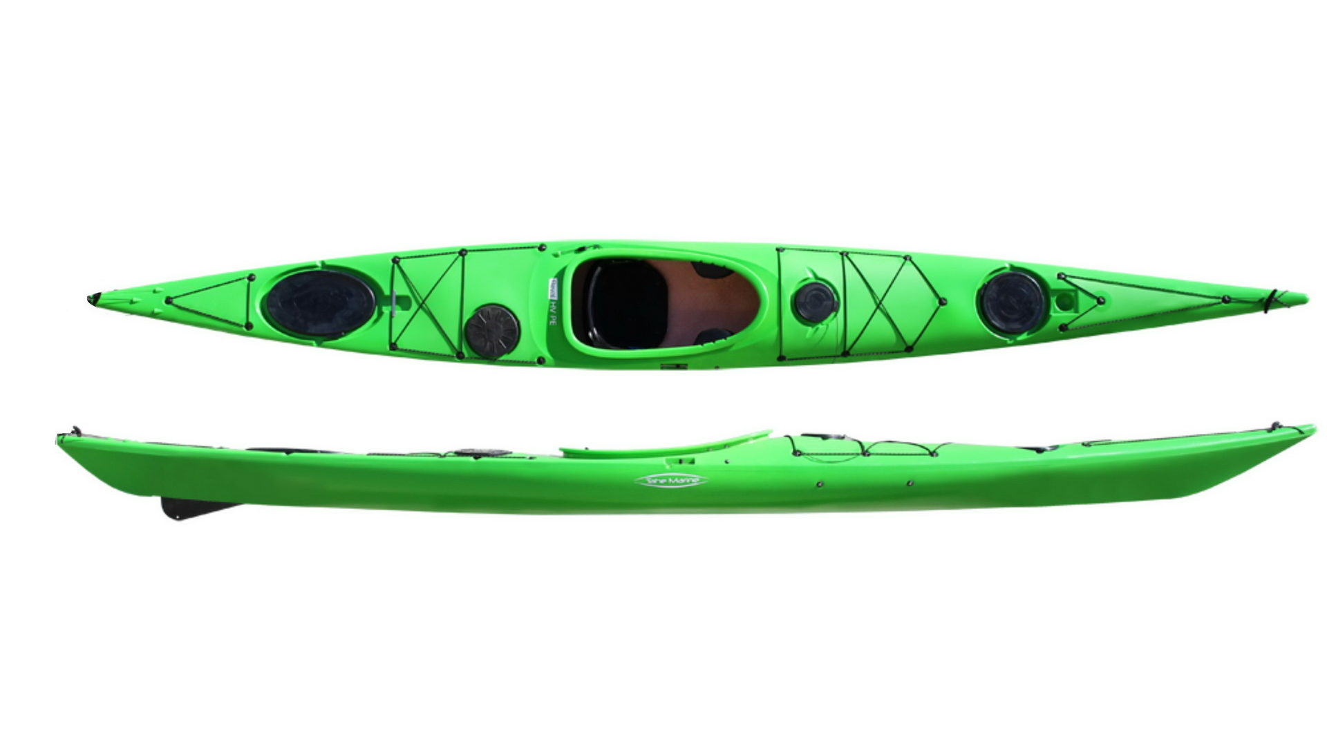 Каяк морской Tahe Marine Reval HV, руль/скег (цвет: зеленый)