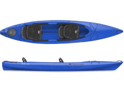 Каяк двухместный Wilderness Pamlico 135T (цвет: синий)