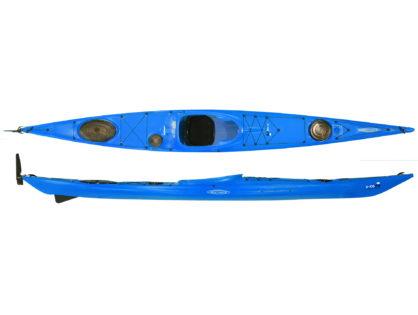 Каяк морской Tahe Marine Reval MINI, скег (цвет: синий)