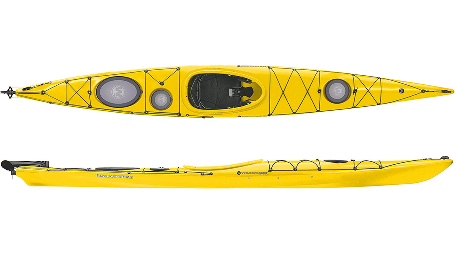 Каяк морской Wilderness Tsunami 160 (цвет: желтый)